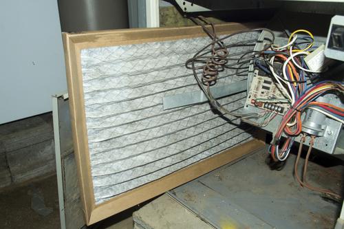 Dirty Furnace Filter - Heating Repair Tempe AZ