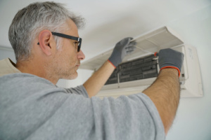 Removing Dust from Filters - Heater Service Gilbert AZ