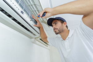 Technician Repairing AC - Air Conditioning Scottsdale