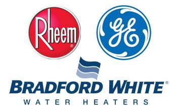 Hughes Air Heating & Cooling - Water Heater Brand Logos